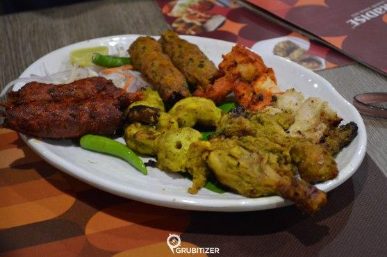 Non Veg Kebab Platter