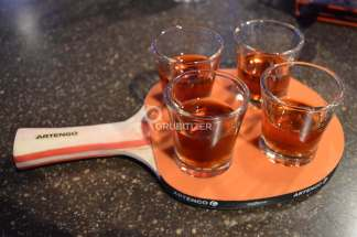 Cinnamon Whiskey Shots